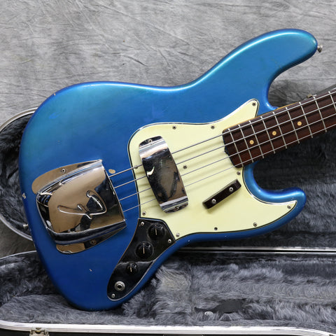 1964 Fender Jazz Bass, Lake Placid Blue Refinish