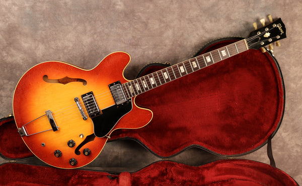 1970 Gibson ES-335 TD, Ice Tea Sunburst