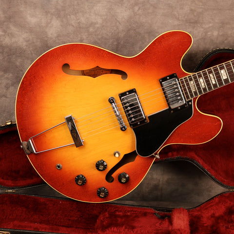 1971 Gibson ES-335 TD, Ice Tea Sunburst
