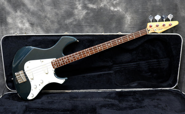 1985 Fender Performer Bass, Gun Metal Blue Metalic