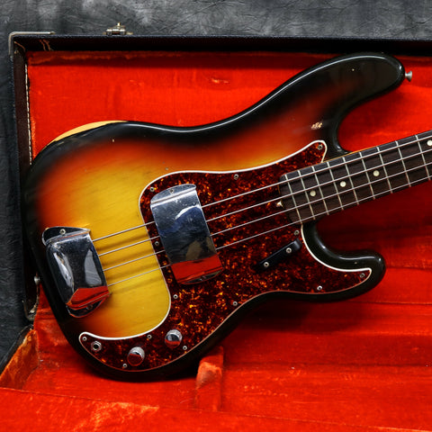 1968 Fender Precision Bass, Sunburst