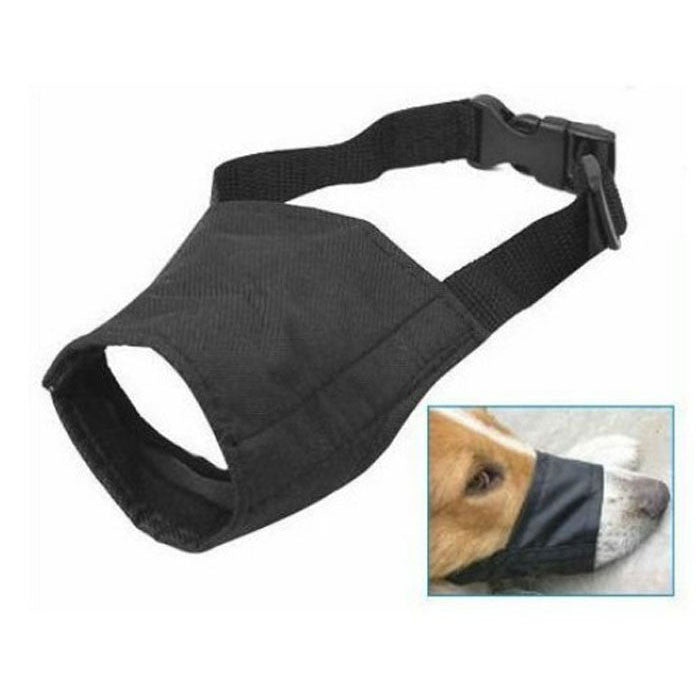 2016 New Dog  Masks Dog Puppy Safety Rope Muzzle Stop Biting Barking Nipping Chewing