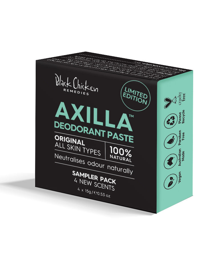 Axilla Deodorant Paste Original Sampler Pack