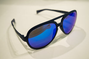 Italia Indipendent Dark Blue Sunglasses