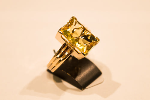 Berill Ring 6,08 ct