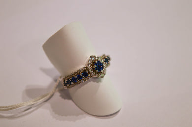 Sapphires and Brilliants Ring