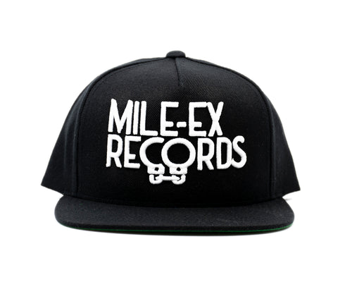 Mile-Ex Records Snapback Hat
