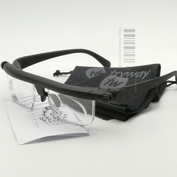 Adjustable Vision Focus Distance Glasses