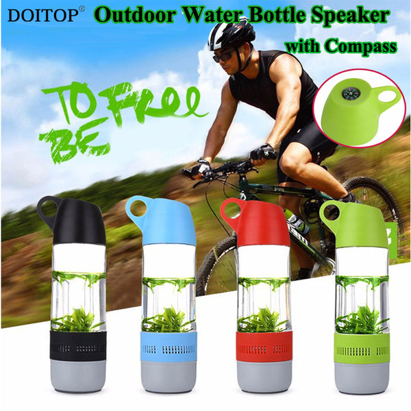 Sports Compass Bluetooth Water Bottle Speaker
