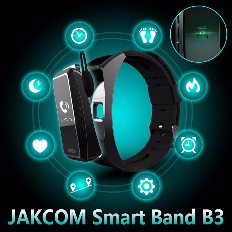 Smart Band Watch 2 in 1 Bluetooth Smart Bracelet