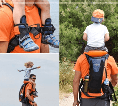 Saddle Kid  Hands-Free Shoulder Carrier