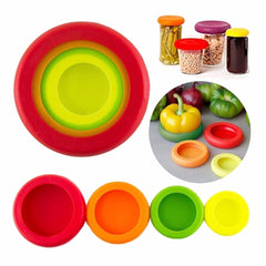 4PCS Food Huggers Fruits and Vegetables Cover
