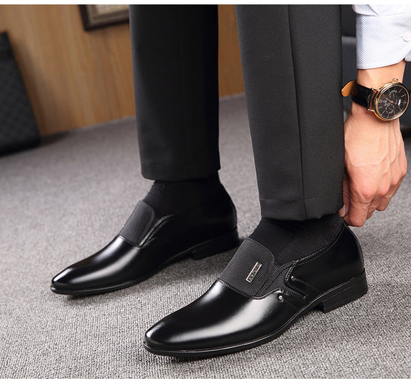 Luxury Men Formal Dress Pointy Shoes