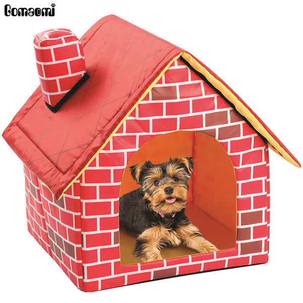 Portable Brick Pet Dog & Cat House