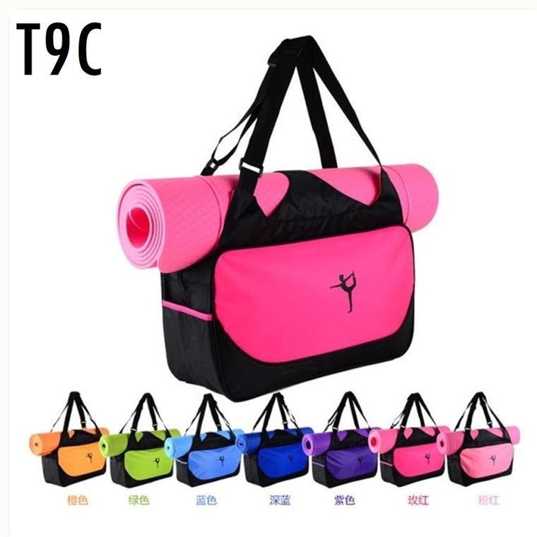 Fitness sports waterproof Gym bag for mats and clothes.