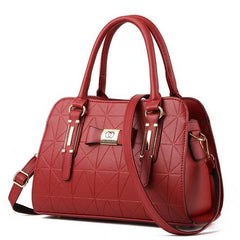 Real Soft PU Leather Handbag