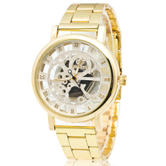 Luxury Boys Stainless Steel, Pointer Quartz Wrist Watch.