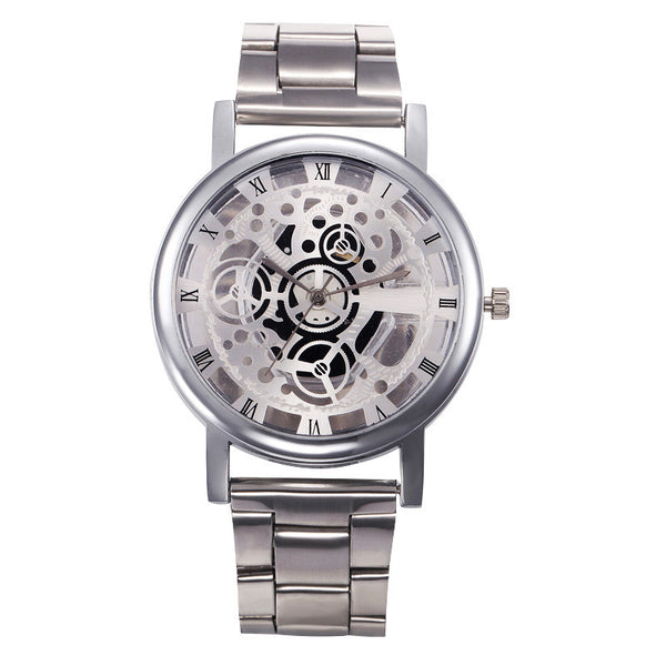 Fashion Women Stainless Steel Analog Quartz Watch