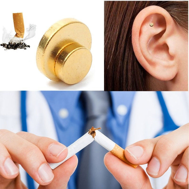 Quit Smoking With Magnet Acupressure Patch