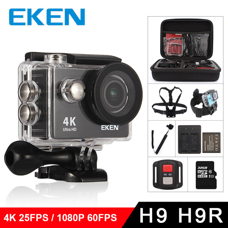 4K Wifi Waterproof Sports Camera