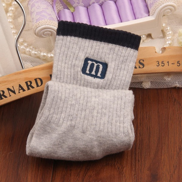 Men 3 pairs  Winter Autumn 100% cotton socks men Pure color.