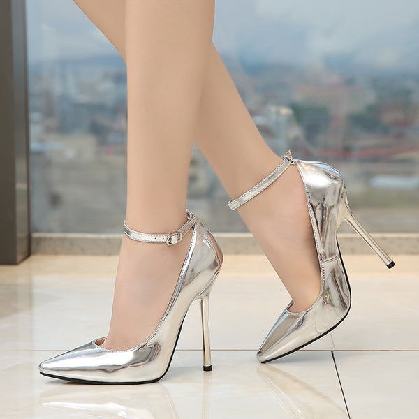 Ankle Cuff Pointy Shoes