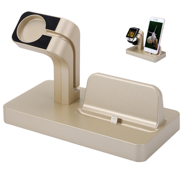 >Charging Dock Stand< Bracket Accessories Holder Kit, For Apple Watch iPhone iWatch