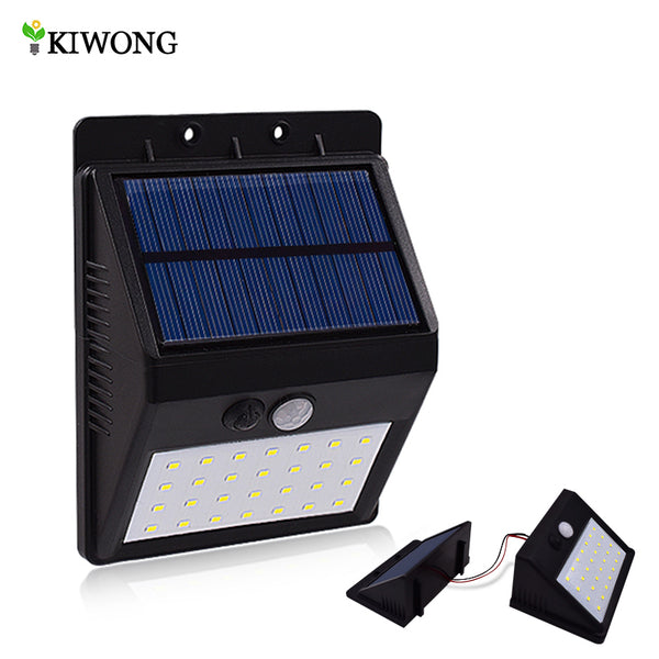 Outdoor 28 LEDS Solar Motion Sensor Security Light. Super Bright, Waterproof.
