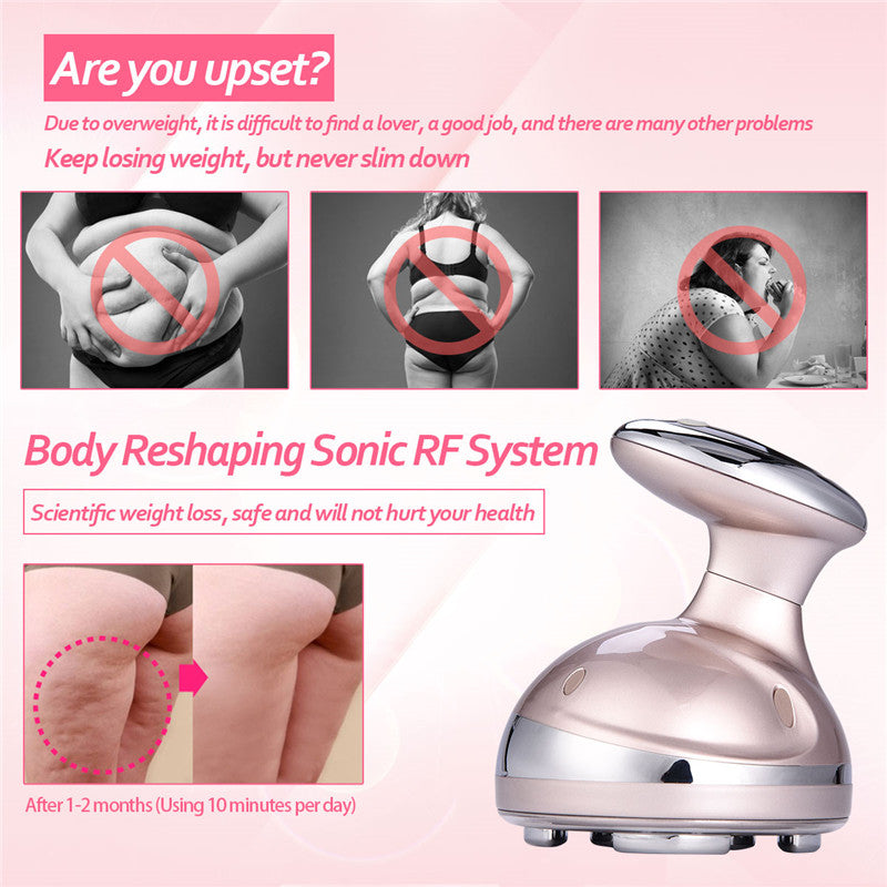 Ultrasonic Anti Cellulite Skin LED  Machine
