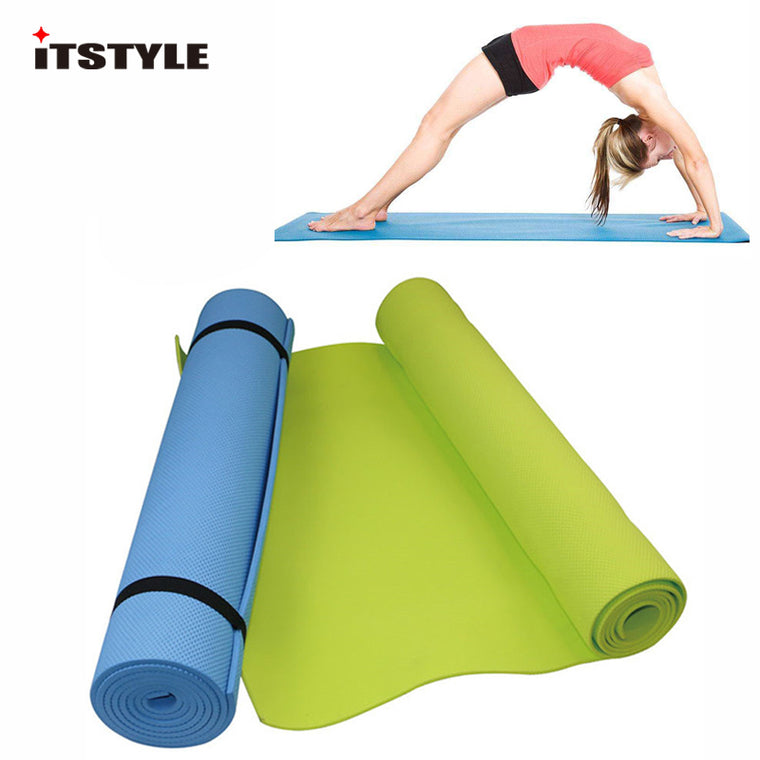6MM Yoga Mats EVA Foam Non-slip Gym Sport Fitness Pilates Exercise Pad Training Mat
