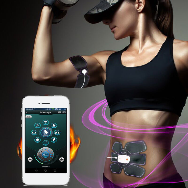 Multi-function Electric Pulse Abdominal Muscle Trainer Bluetooth