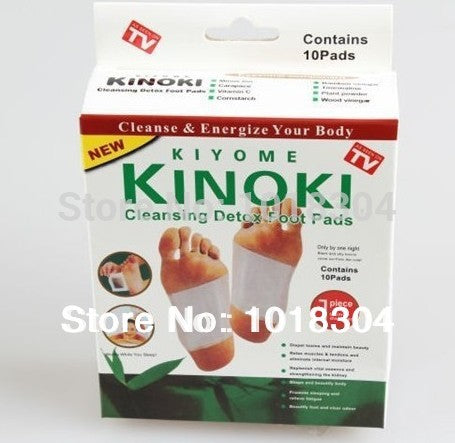 100pcs Cleansing And Detox Foot Energize Kinoki Pads