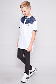 Kids Baker Polo White