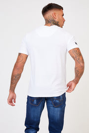 Oxford Graphic Tee - White