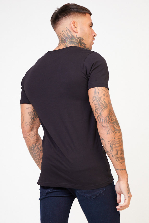 Abbey Graphic Tee - Black