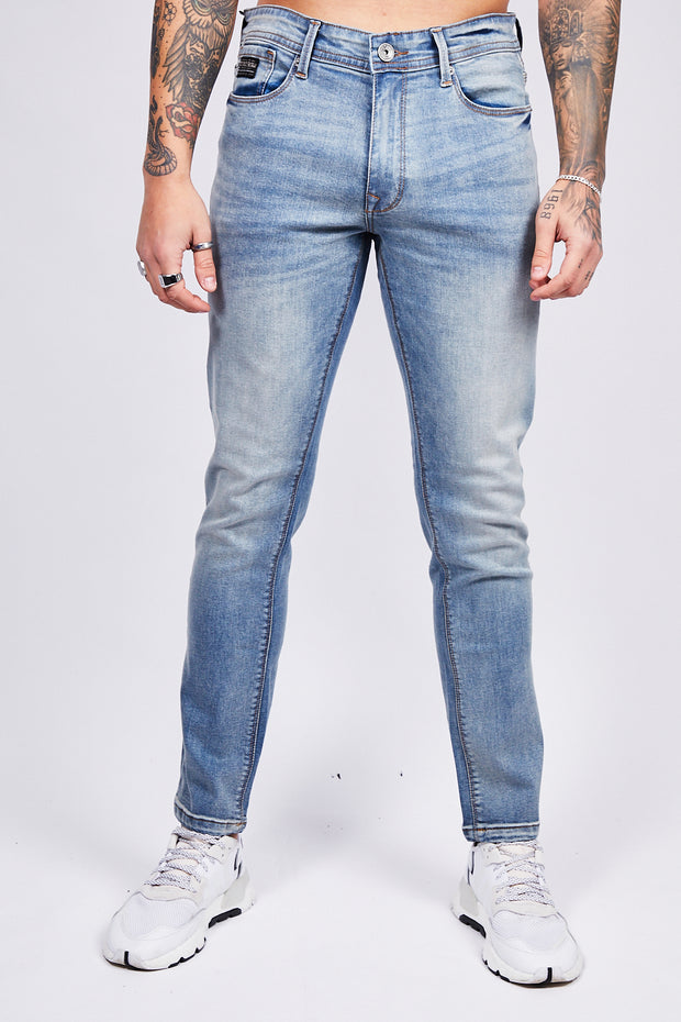 MUC Tapered Jean - Light Blue
