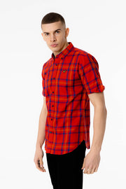 Mordor Voi Shirt - Red Check