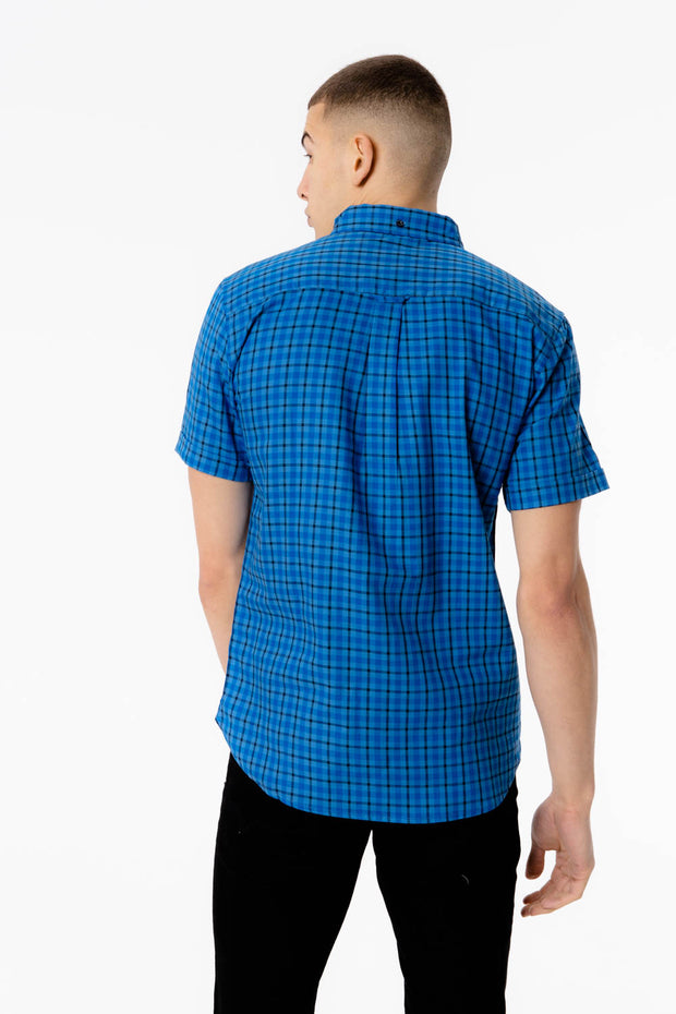 Twin Voi Shirt - Blue Check