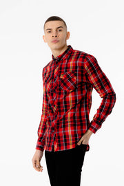 Richy Voi Shirt - Red Check