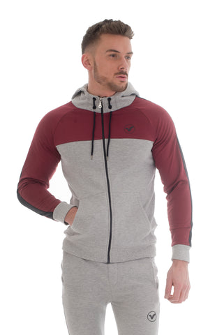 Defeat Hoody Grey