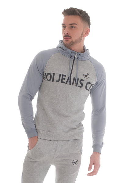 Rifle Hoody Grey - Voi Jeans