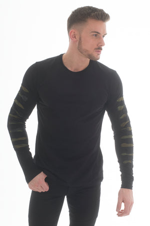 Armour Long Sleeve T-Shirt Black