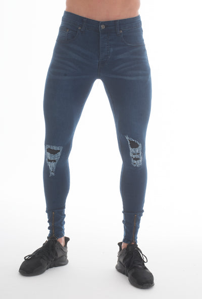 Forger Dark Blue Skinny Fit Jeans - Voi Jeans