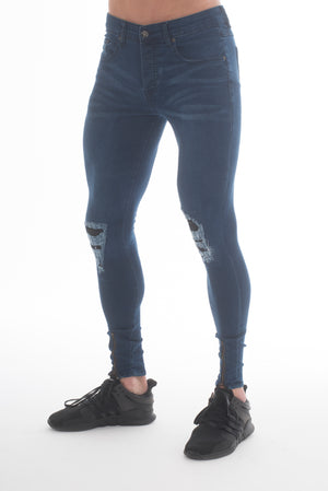 Forger Dark Blue Skinny Fit Jeans