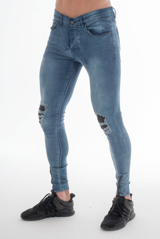 Forger Light Wash Skinny Fit Jeans - Voi Jeans