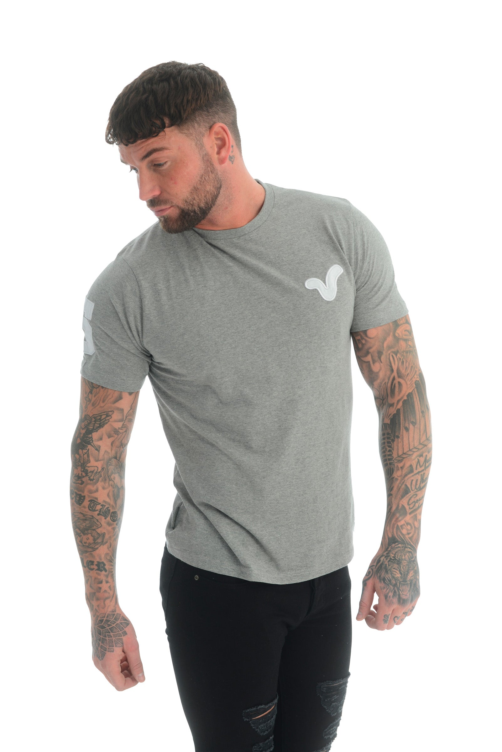 HOGAN TEE GREY