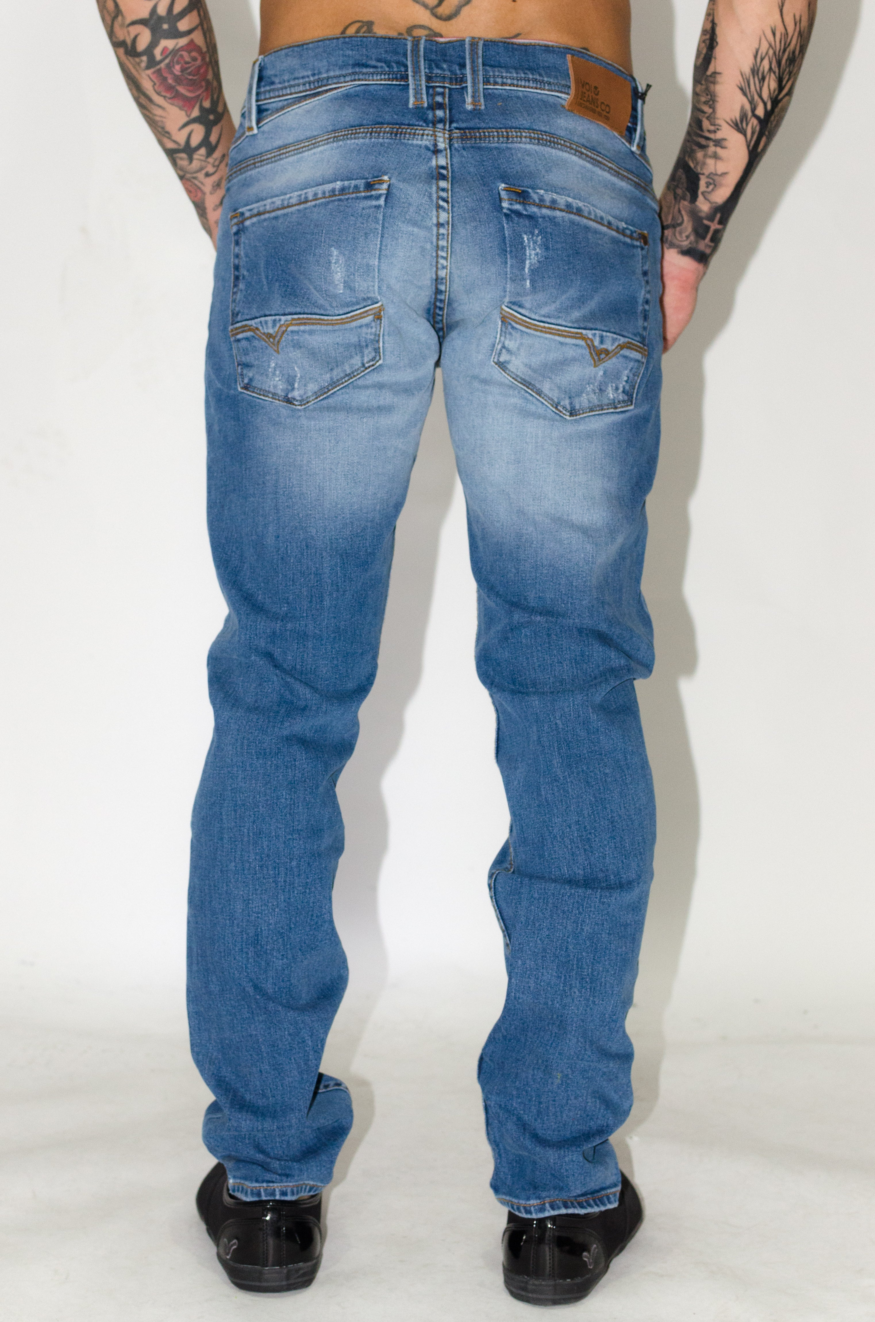 HJ 7070 Tapered Jeans