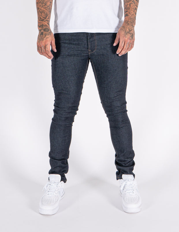 LJ 6610 Raw Skinny Stretch Denim Jeans