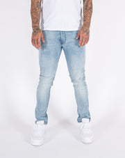 LJ 6650 Ice Blue Skinny Stretch Denim Jeans