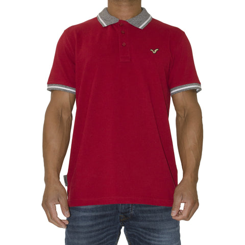 Tour Polo Maroon